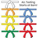Protected: Belt Testing September 8, 2018