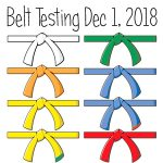 Protected: Belt Testing Dec, 1 2018 (All color belts)